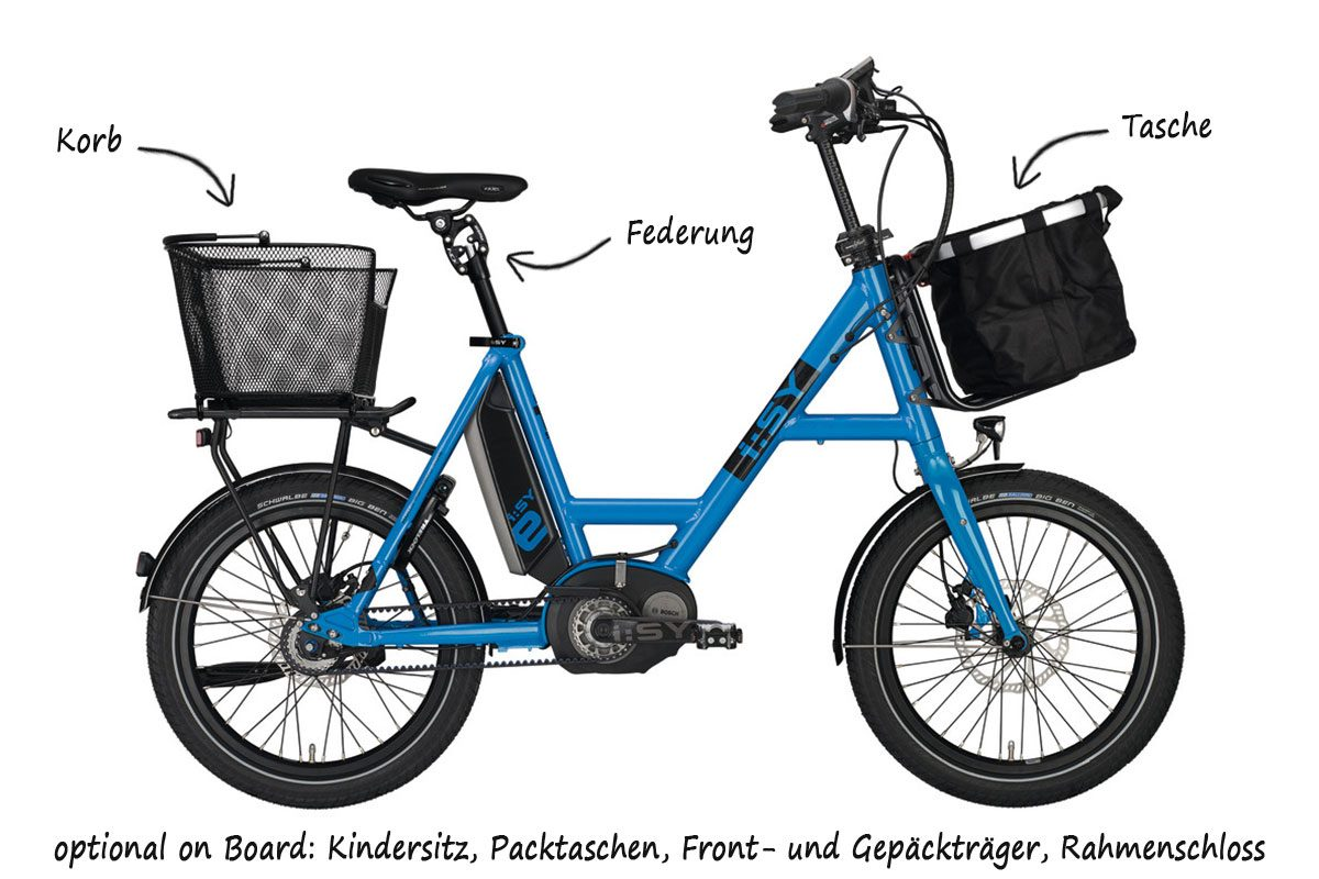 i sy das urbane kompaktrad ebikes leipzig. Black Bedroom Furniture Sets. Home Design Ideas
